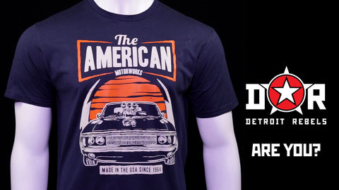 (0060) American Muscle Car Dodge Challenger 1964 T-Shirt