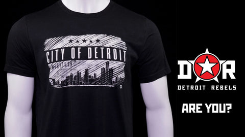 (0080) CITY OF DETROIT T-shirt, Detroit T-Shirts LLC