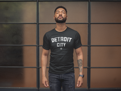 DETROIT CITY T-Shirt by DETROIT★REBELS Brand