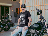 (0088) Motorcycle T-Shirt, You Don't Always Need a Plan Sometimes You Just Need Balls and a Beard Biker T-Shirt, DETROIT REBELS