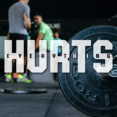 Everything Hurts T-Shirt for Men Crossfit Workout Weightlifting Funny Gym Tshirt
