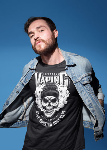 Vape Pen Smoker T-Shirt (01)