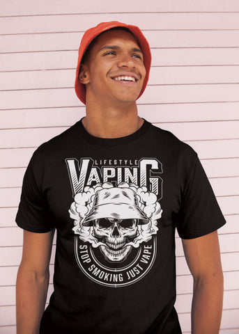 Vape Pen Smoker T-Shirt (03)