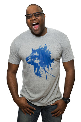 Roaring Lion Detroit T-Shirt by DETROIT★REBELS Brand