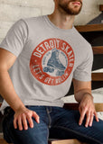 (0098) Detroit Roller Skating Derby T-Shirt by DETROIT★REBELS Brand