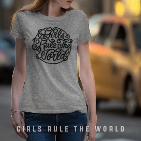 (BG-03) GIRLS RULE THE WORLD T-SHIRT | Bad Girls Outfit