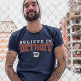 (0052) Believe In Detroit T-Shirt, Detroit T-Shirts LLC