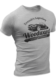 (0022) Woodward Garage T-shirt (1), Detroit T-Shirts LLC