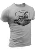 (0023) Woodward Garage T-shirt (2), Detroit T-Shirts LLC