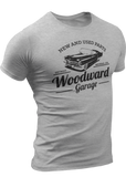(0025) Woodward Garage T-shirt (4), Detroit T-Shirts LLC