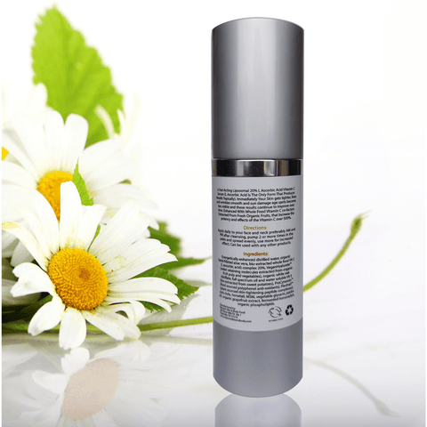 Vitamin C Serum-Fast Acting Liposomal 20% L-ascorbic acid-Improves Age Spots, Helps Firm And Tighten Skin And So Much More.