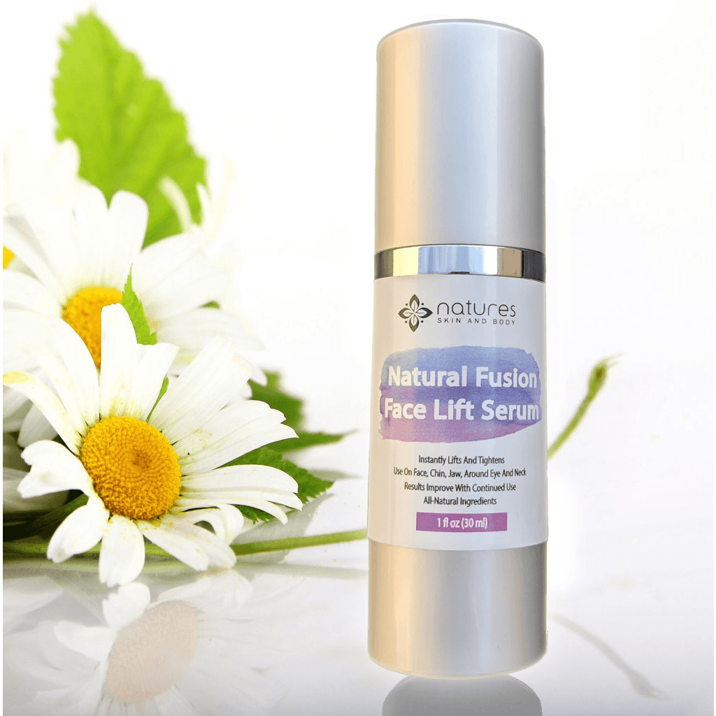 Natural Fusion Face Lift Cream-All-Natural Skin Tightening Cream That Instantly Lifts And Firms Sagging Skin On The Face And Neck With Results Improving With Continued Use.