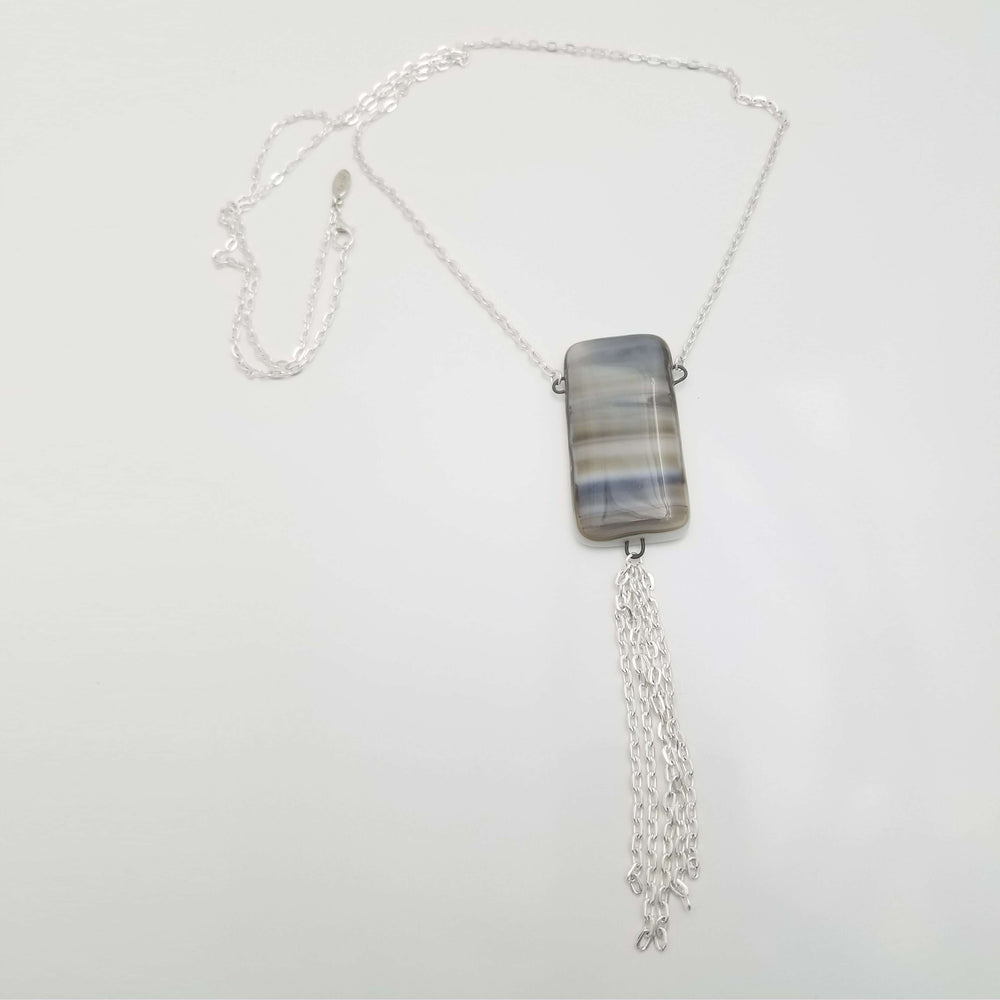 "Timeless Reversible Long  30""Necklace"