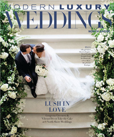 Modern Luxury Weddings - March 2020 cover
