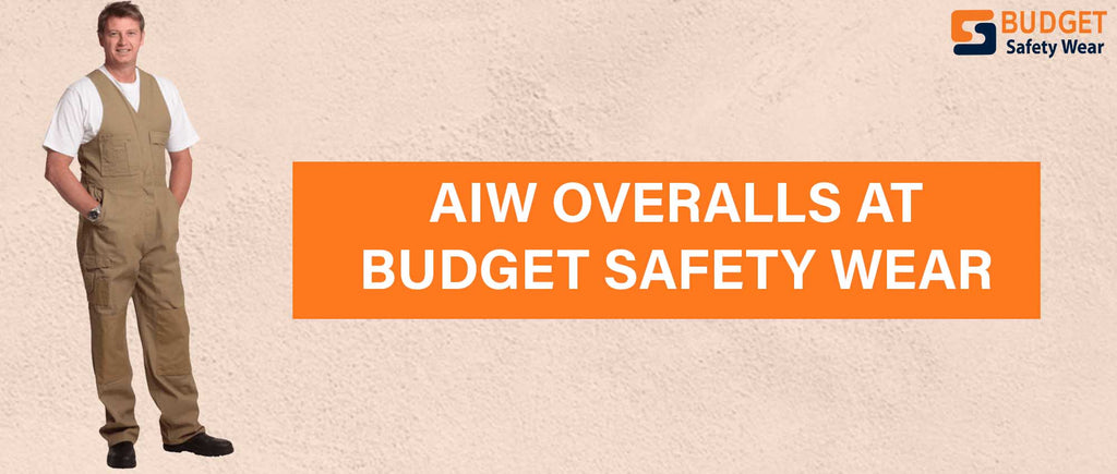 AIW Overalls at Budget Safety Wear