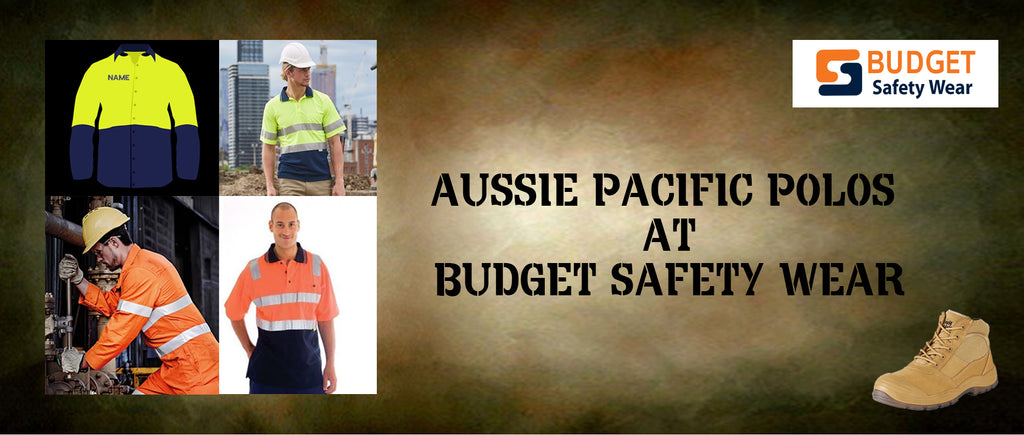 Aussie Pacific Polos at Budget Safety Wear