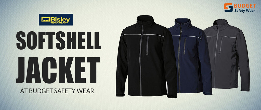 Bisley Softshell Jacket at Budget Safety Wear