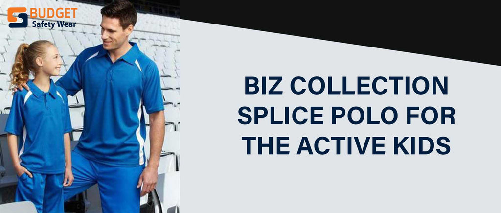 Biz Collection Splice Polo for Kids