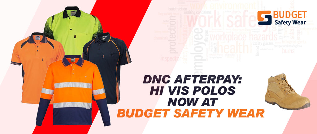 DNC Workwear Afterpay : Hi Vis Polos now at Budget safety wear