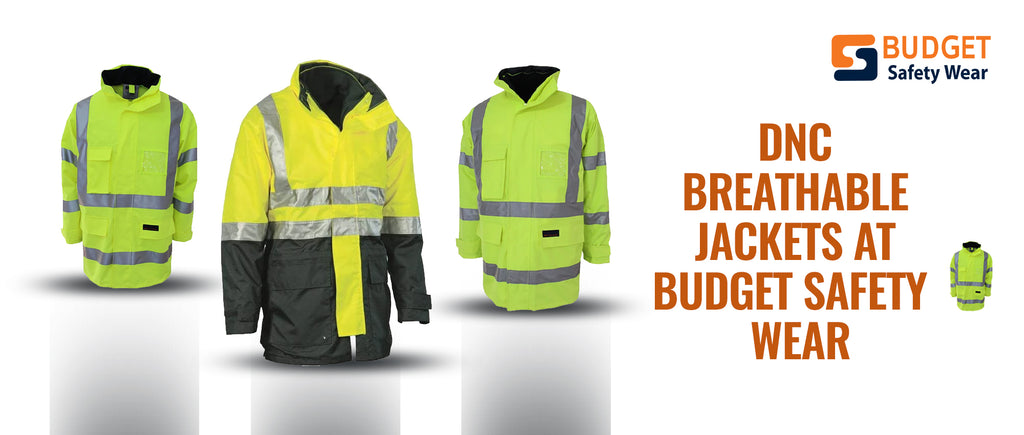 DNC Breathable Jackets at Budget Safety Wear