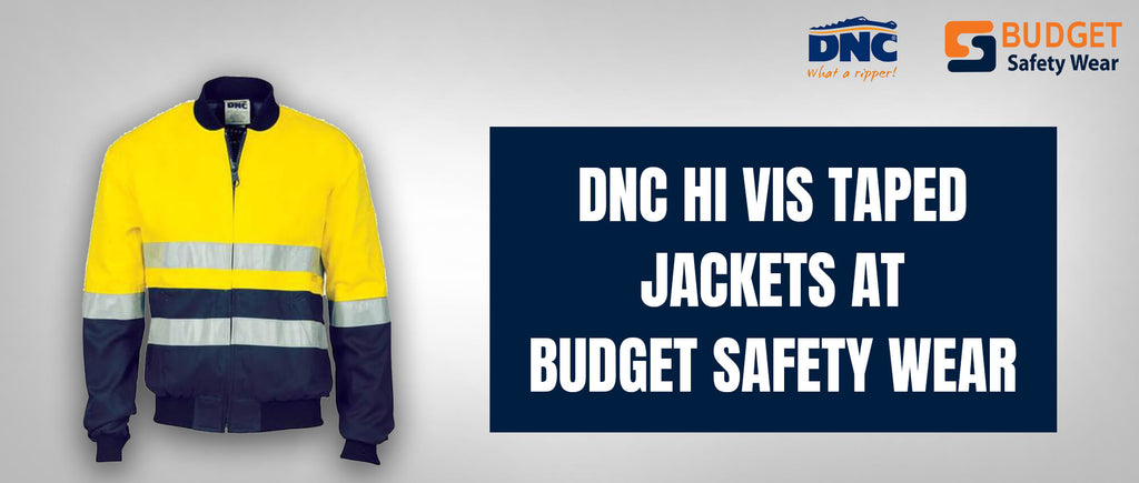 DNC Hi Vis Taped Jackets at Budget Safety Wear