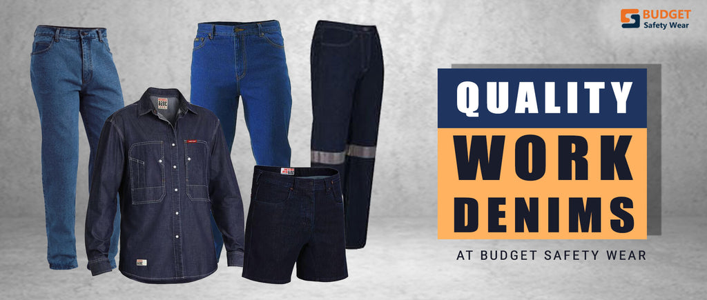 Quality Work Denims at Budget Safety Wear