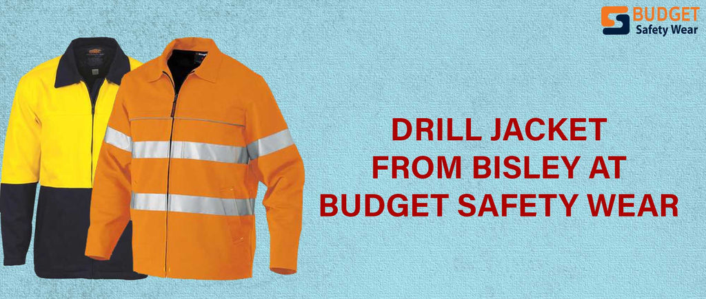 Drill Jacket from Bisley at Budget Safety Wear