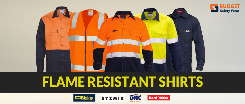 Flame Resistant Shirts at Budget Safety Wear