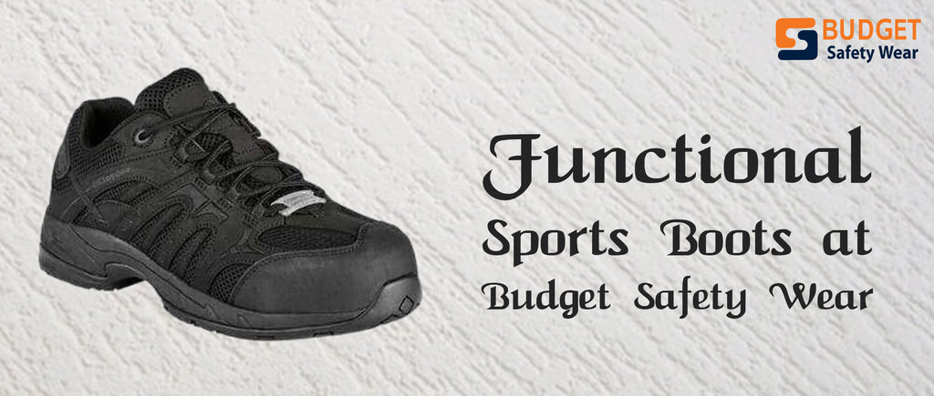 Functional Sports Boots at Budget Safety Wear