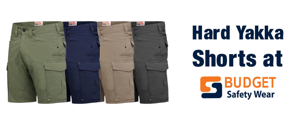 Hard Yakka Shorts at Budget Safety Wear