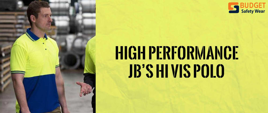 High-Performance JB's Hi Vis Polo