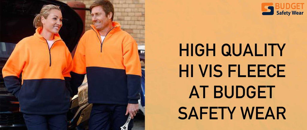 High Quality Hi Vis Fleece at Budget Safety Wear