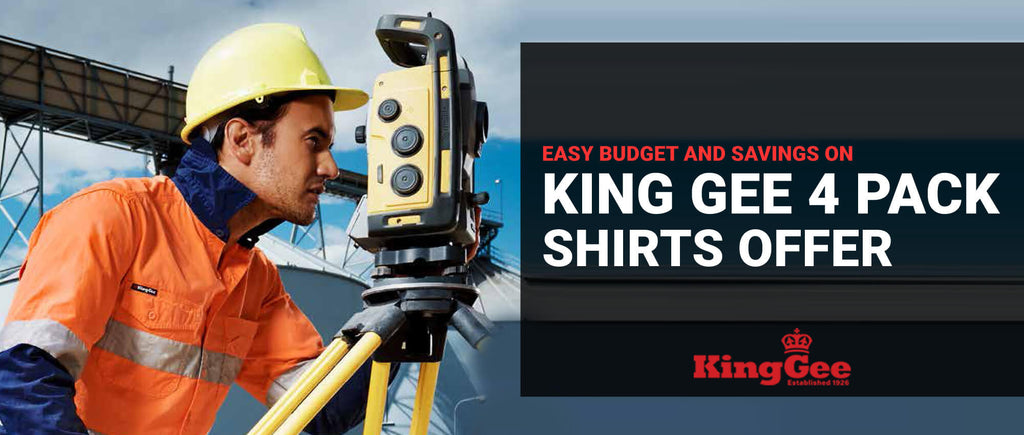 Easy Budget and Savings on King Gee 4 Packs