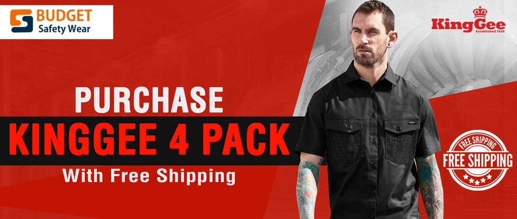 Purchase KingGee 4 pack with free shipping in the Best Offer Ever