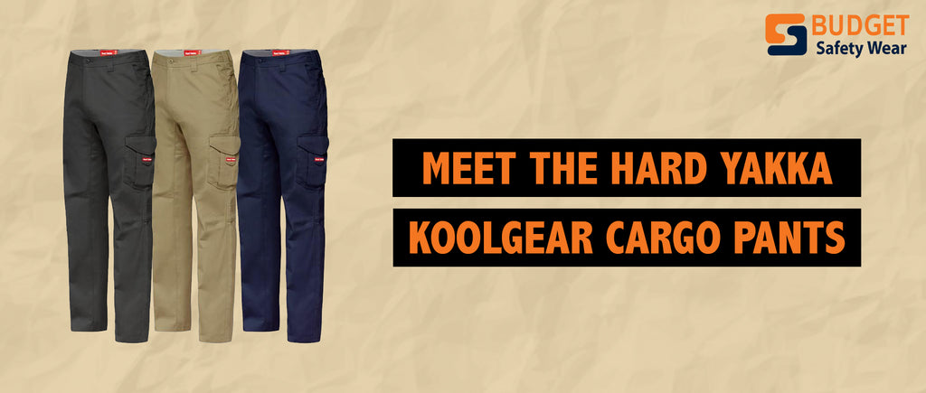 Meet the Hard Yakka KoolGear Cargo Pants
