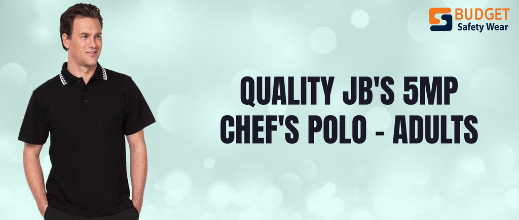 Quality JB's 5MP Chef's Polo - Adults