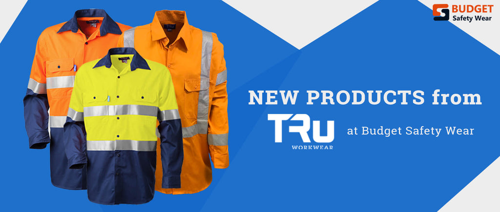 New Products from TRu Workwear at Budget Safety Wear