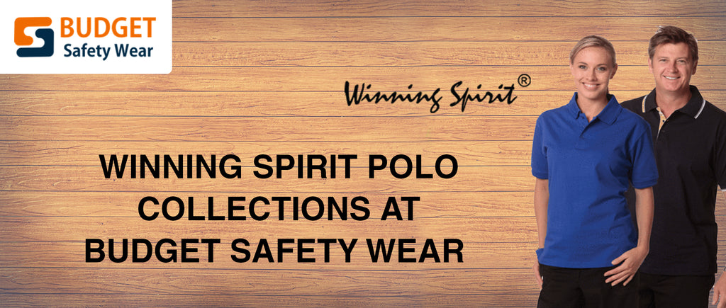 Winning Spirit Polo Collections at Budget Safety Wear
