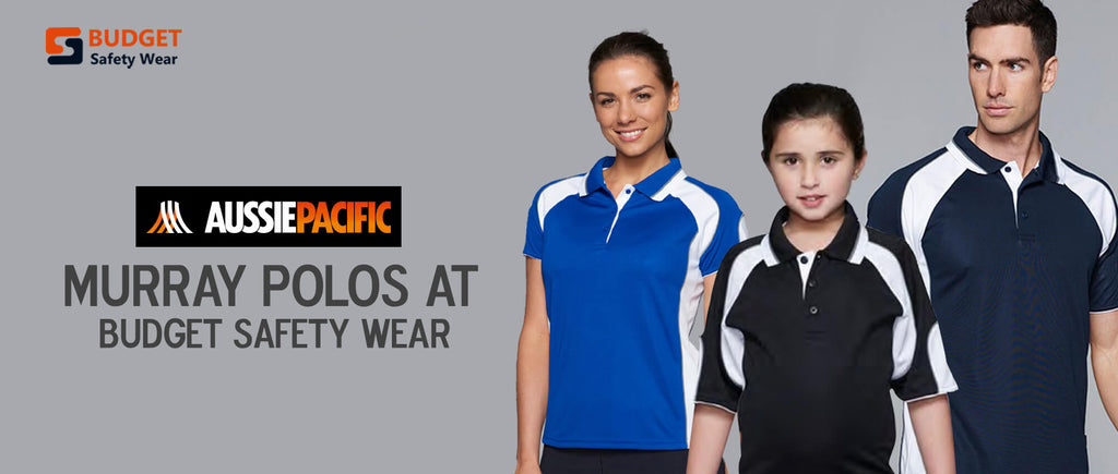 Aussie Pacific Murray Polos at Budget Safety Wear
