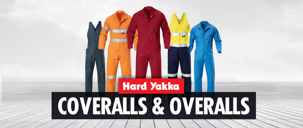 Hard Yakka Overalls and Coveralls At Budget Safetywear