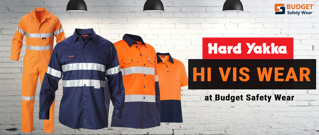 Hard Yakka Hi Vis Wear at Budget Safety Wear