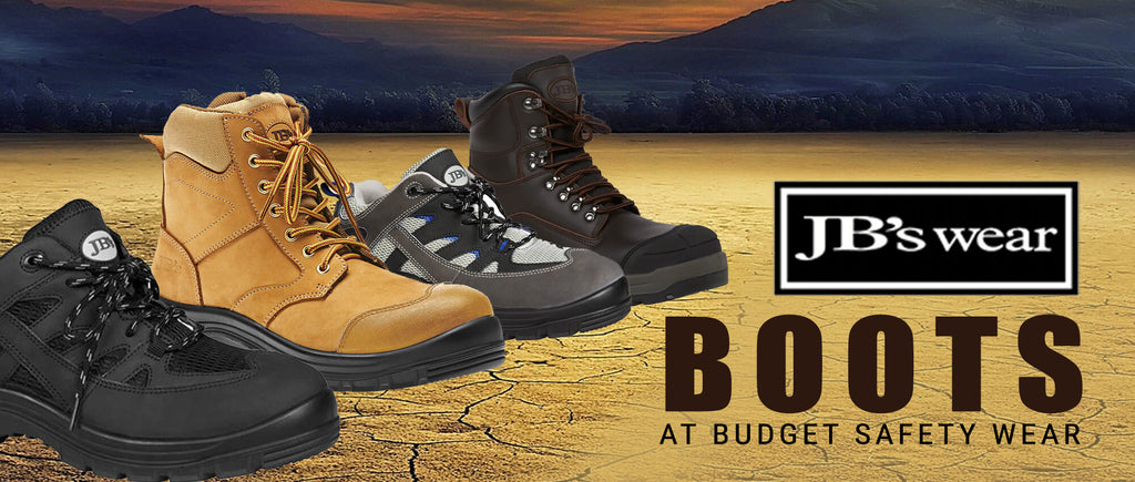 JB's Wear Boots at Budget Safety Wear