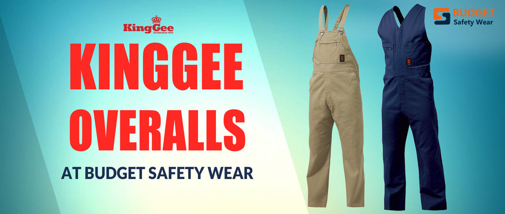 KingGee Overalls at Budget Safety Wear