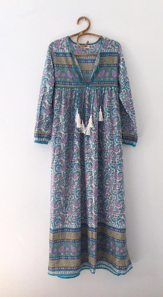 Luna Dress - Teal