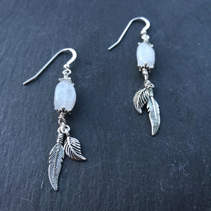 Little Wing Earrings - Snow