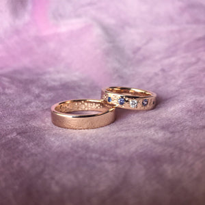 Imprint of the stars ring (Set of 2)