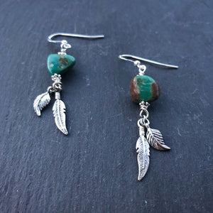 Little Wing Earrings - Pinewood
