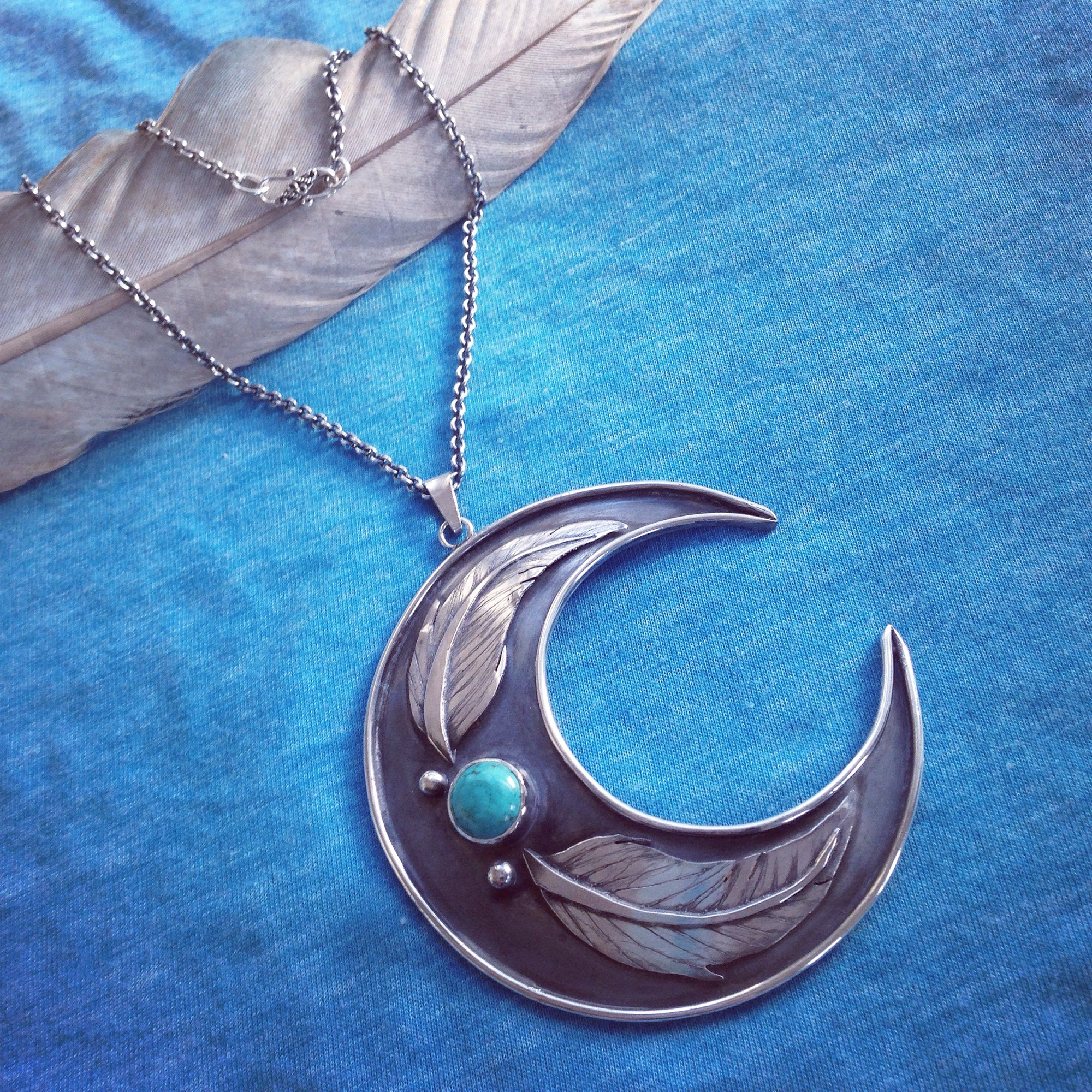 Fallen Feathers Necklace