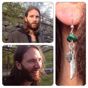 Lone Hunter Earring