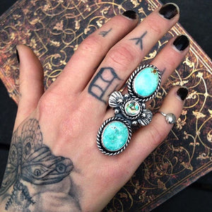 Mermaid's Shield Ring